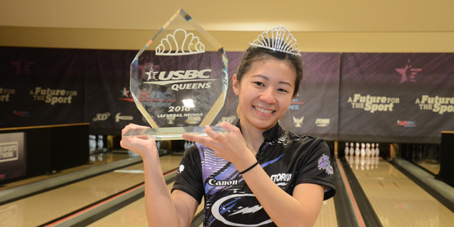 LIM CROWNED CHAMPION AT USBC QUEENS
